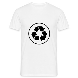 Recycle circle - Mannen T-shirt