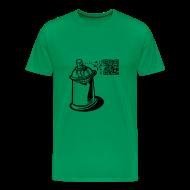 Camisetas ~ Camiseta premium hombre ~ CAMISETA SPRAY GRAFITTI