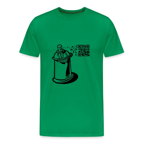 CAMISETA SPRAY GRAFITTI - Camiseta premium hombre