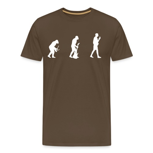 Evolution of Guitarist t-shirt - Men's Premium T-Shirt