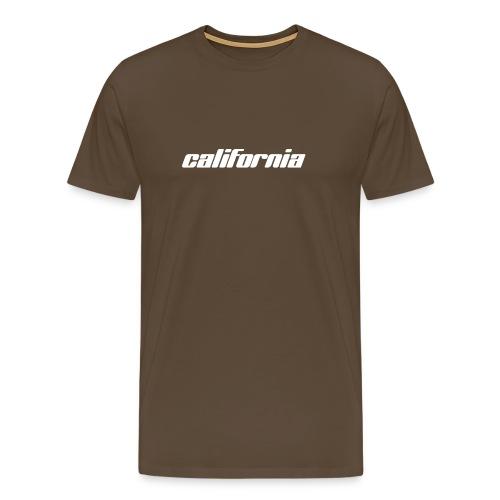 T-Shirt california braun - Männer Premium T-Shirt