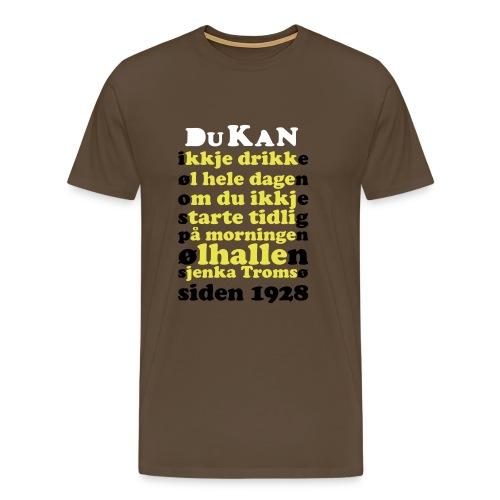 ØLHallen - Premium T-skjorte for menn