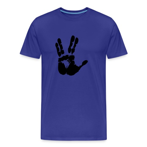 Greetings from space - Herr - Premium-T-shirt herr