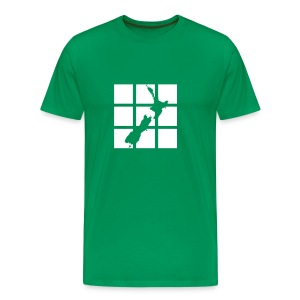 NZ Outline T-shirt - Men's Premium T-Shirt