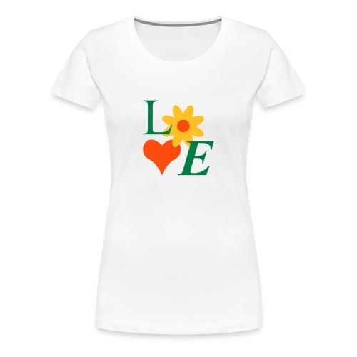 T-Shirt im Retro-Design - Frauen Premium T-Shirt