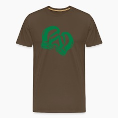 Brown Boxing Men's Tees (short-sleeved)