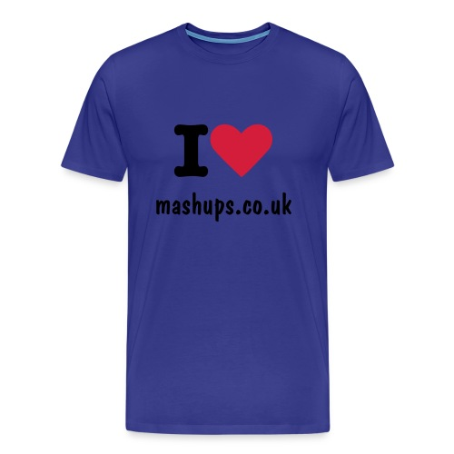 I love mash ups - Men's Premium T-Shirt
