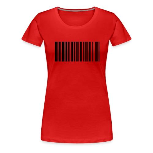 bar coded - Women's Premium T-Shirt