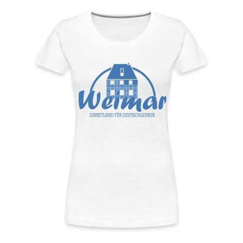 Disneyland für Deutschlehrer BLAU - Frauen Premium T-Shirt