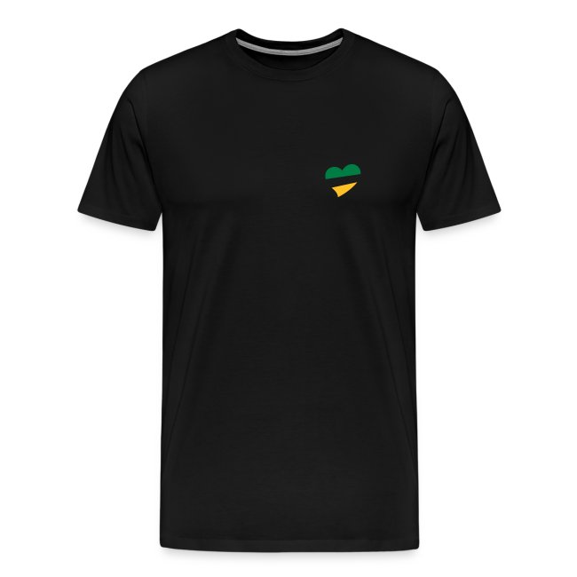 Men's BG&G Heart XXXL T-Shirt