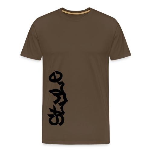 STYLE T-Shirt V1 - Männer Premium T-Shirt