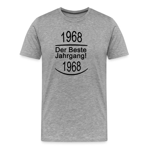 1968 Der Beste Jahrgang! - Männer Premium T-Shirt