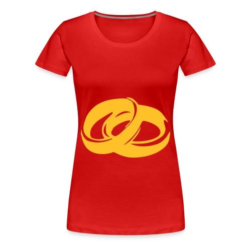 7Live - RedShirt Ringe - Frauen Premium T-Shirt