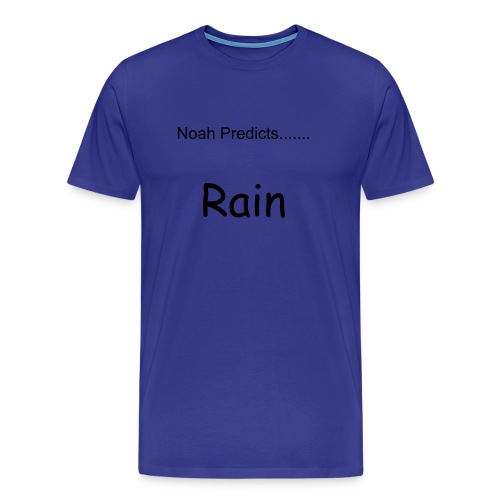 Noah Predicts.... - Men's Premium T-Shirt