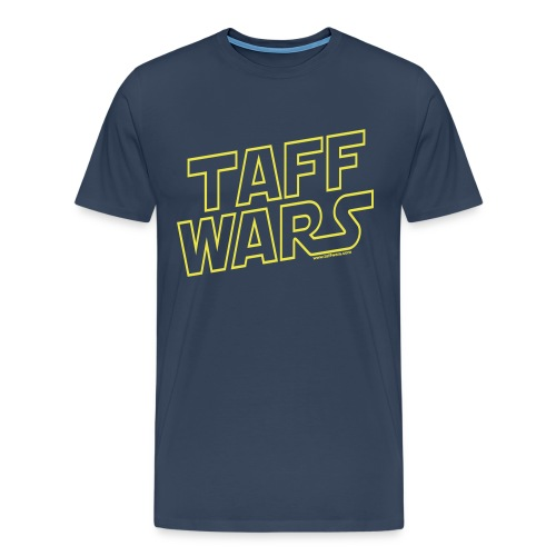 Taff Wars BLUE XXXL Shirt - Men's Premium T-Shirt