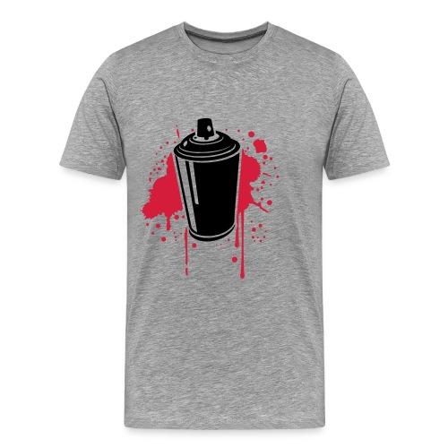 Spraycan - Männer Premium T-Shirt