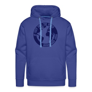 AT LEAST UNTIL THE WORLD STOPS - Men's Premium Hoodie