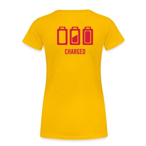 CHARGED - Frauen Premium T-Shirt
