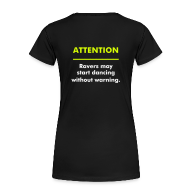 T-Shirts ~ Frauen Premium T-Shirt ~ Attention