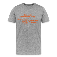 T-Shirts ~ Männer Premium T-Shirt ~ Let there be song!