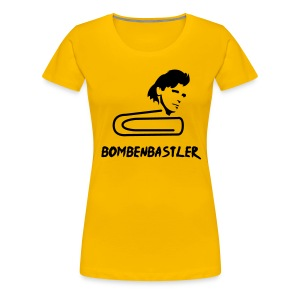 Bombenbastler - yellow girlie - Frauen Premium T-Shirt