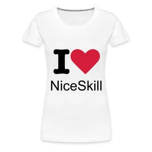 T-shirt simple girl nS - T-shirt Premium Femme