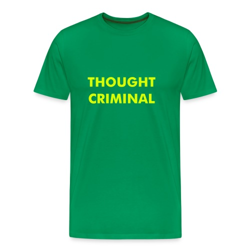 Thought Criminal - Men's Premium T-Shirt