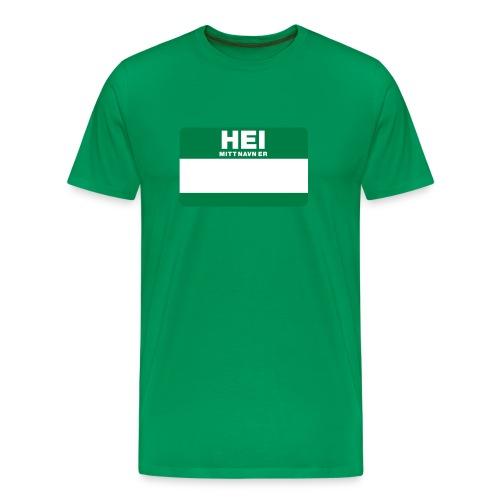 Skjetten Varehus (Mitt navn er...) - Premium T-skjorte for menn