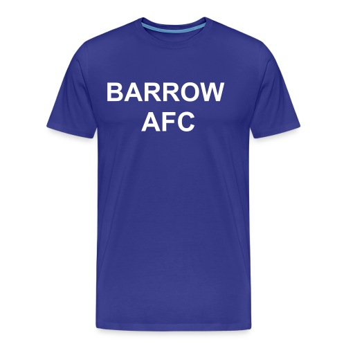 BARROW AFC TWO MANAGERS T-SHIRT - Men's Premium T-Shirt