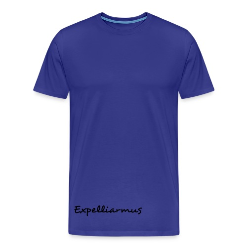 'Expelliarmus Low/Side detail' Mens Comfort Tee BLUE - Men's Premium T-Shirt