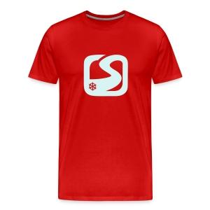 XXXL Réflecteur + Dos customisable - T-shirt Premium Homme