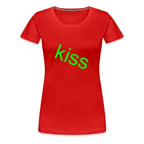 kiss  - Women's Premium T-Shirt