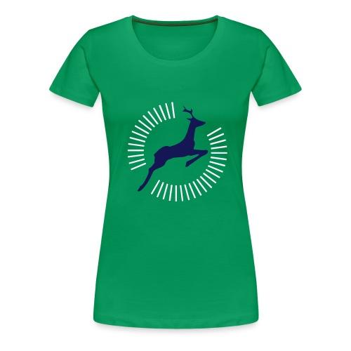 Superhirsch - Frauen Premium T-Shirt