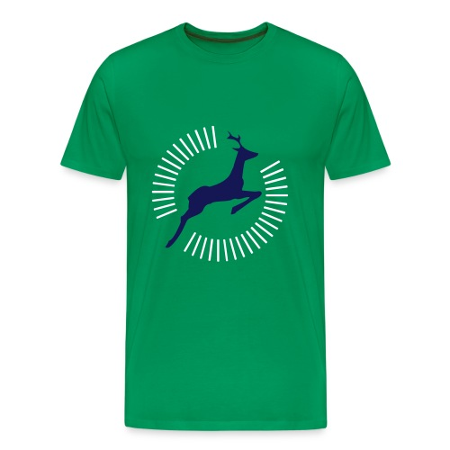 Superhirsch - Männer Premium T-Shirt