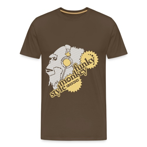 Super Funky Monkey - Men's Premium T-Shirt