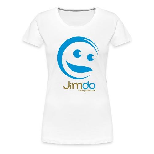 Classic Girlie T-Shirt (gr. Logo vorne) - Frauen Premium T-Shirt