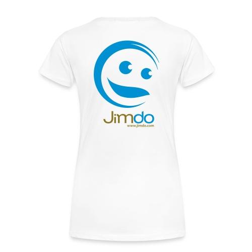 Classic Girlie T-Shirt (gr. Logo hinten) - Frauen Premium T-Shirt