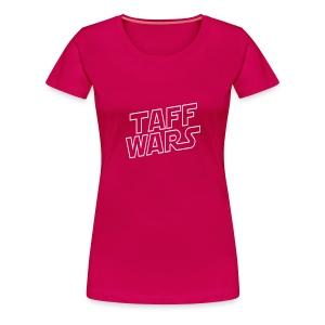 Taff Wars PINK Continental Classic Women's - Women's Premium T-Shirt