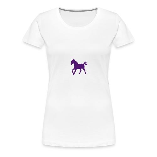 maillot cheval - T-shirt Premium Femme