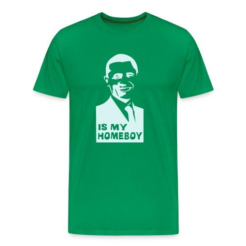 obama tee - Mannen Premium T-shirt
