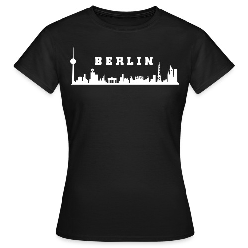 Berlin Skyline - Girly - Frauen T-Shirt