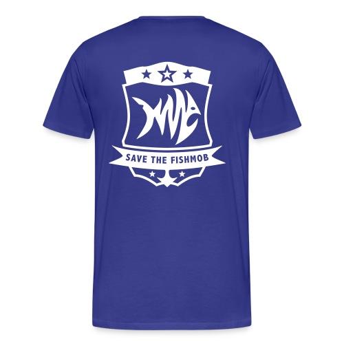 SAVE THE FISH MOB - Men's Premium T-Shirt