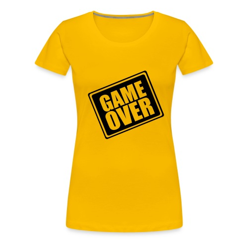 game over - T-shirt Premium Femme