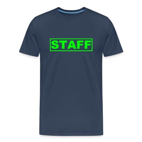 blue suit  - Men's Premium T-Shirt