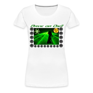 Rave or Die - Premium-T-shirt dam