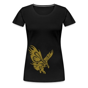 Female's Soaring Eagle (Black) - Women's Premium T-Shirt