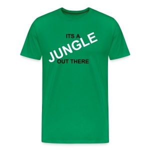 It's a Jungle Out There - Men's Premium T-Shirt