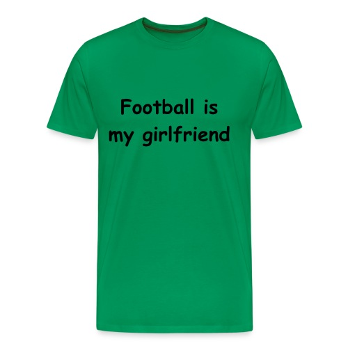 Männer Basis-T-Shirt Football is... - Männer Premium T-Shirt