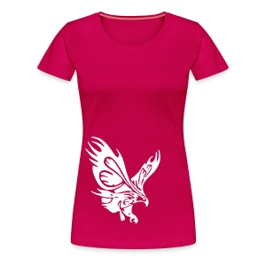 Female's Soaring Eagle (Pink) - Women's Premium T-Shirt