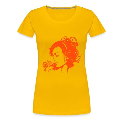 girly - Frauen Premium T-Shirt